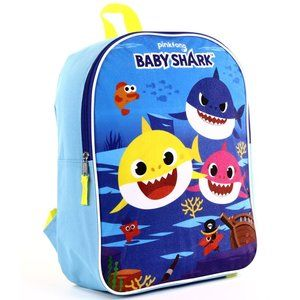 """BABY SHARK 15"""" Backpack. Full Front Sublimation"""